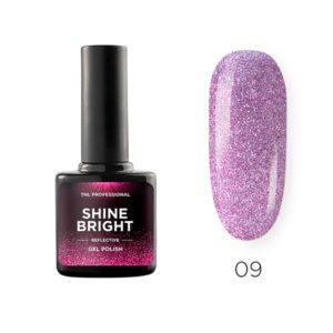Гель-лак TNL Shine bright №09 - Сиреневый туман