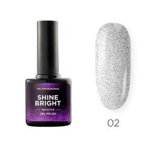 Гель-лак TNL Shine bright №02 - Голографический космос