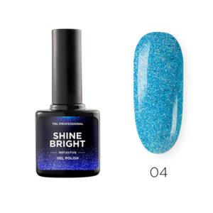 Гель-лак TNL Shine bright №04 - Морская волна