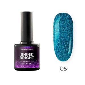 Гель-лак TNL Shine bright №05 - Лазурный пейзаж