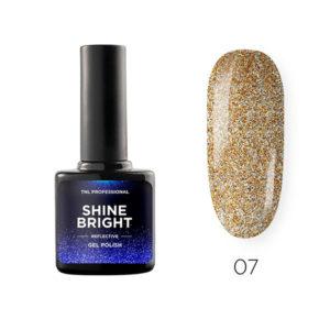 Гель-лак TNL Shine bright №07 - Золотой блеск