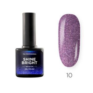 Гель-лак TNL Shine bright №10 - Космическая бабочка
