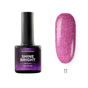 Гель-лак TNL Shine bright №11 - Малиновый закат